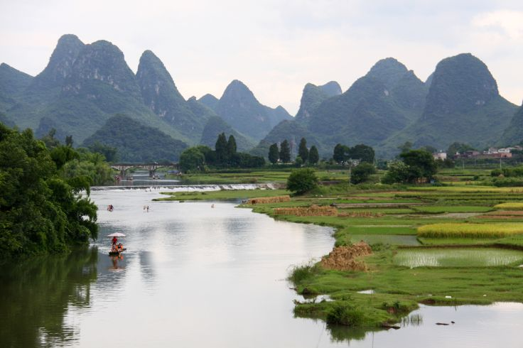 Rivière Li - Yangshuo - Chine