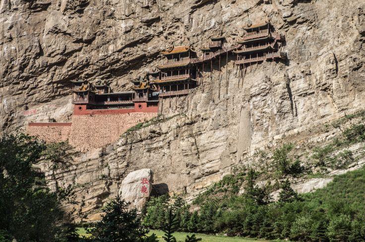Monastère Xuankongsi - Datong - Chine