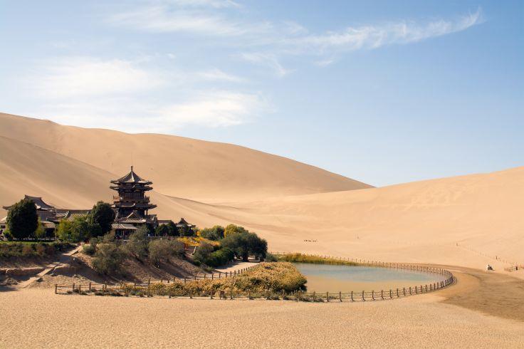 Dunes de Mingsha - Chine