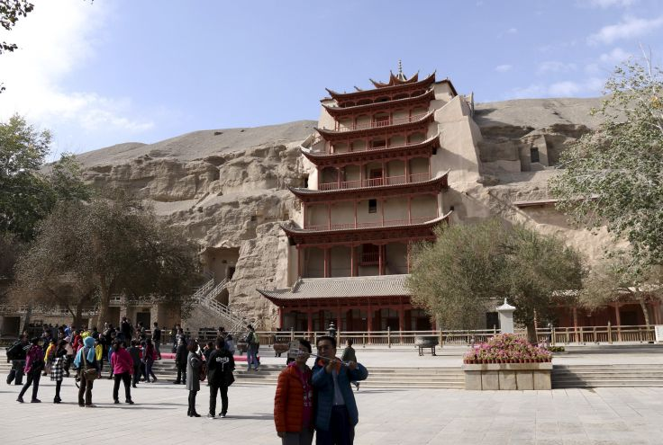 Grottes de Mogao - Dunhuang - Chine