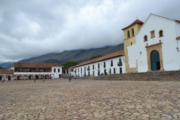 Plaza Mayor de Villa de Leyva - Département de Boyaca - Colombie
