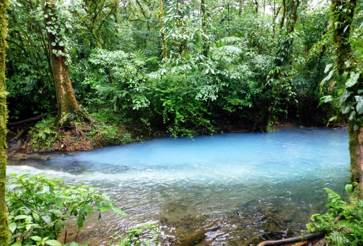 Rio Celeste - Gira Monteverde - Costa Rica