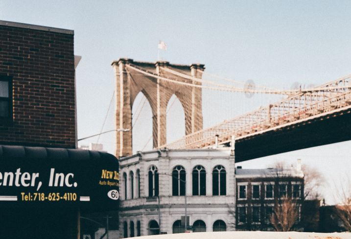 Pont de Brooklyn - New York - Etats-Unis