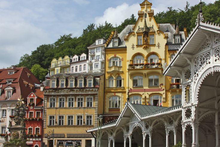 De Marienbad à Prague - Bains thermaux et vertiges baroques