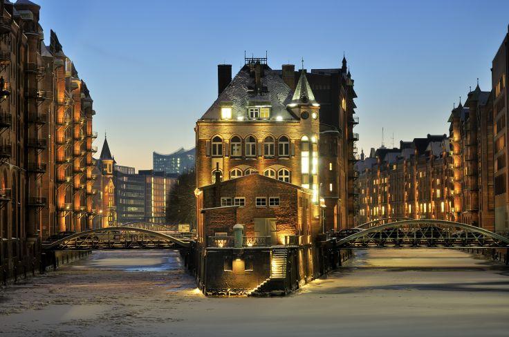Hambourg - La Hanse archi tendance