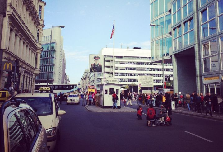 Checkpoint Charlie - Berlin- Allemagne