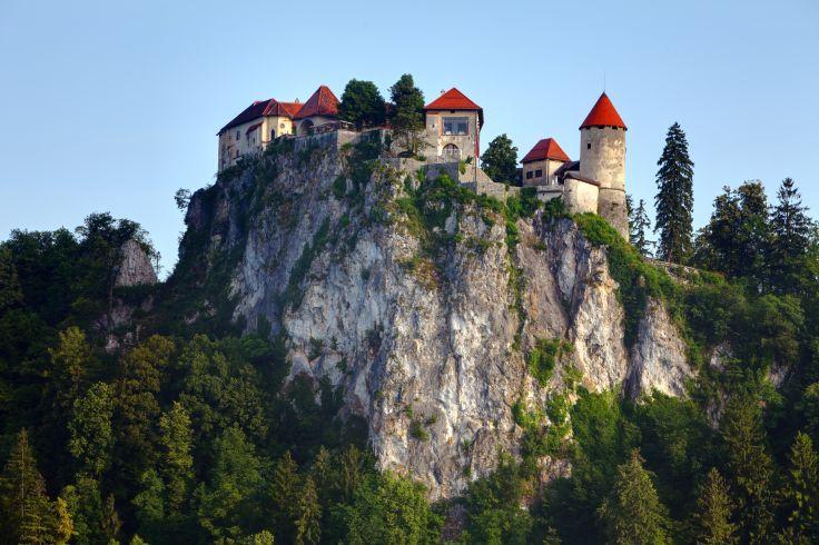 Château médiéval de Bled - Haute-Carniole - Slovénie