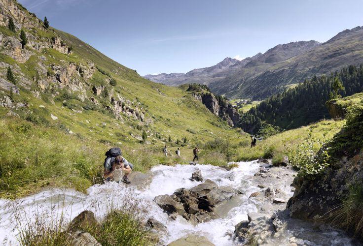 Randonnée Obergurgl - Vallée de l'Ötztal - Autriche