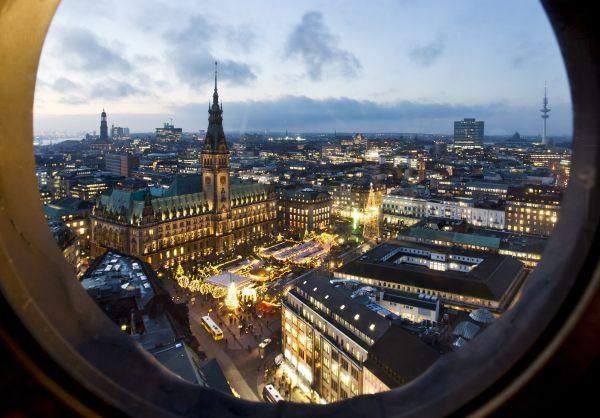 Marchés de Noël à Hambourg - L'Avent au fil des canaux