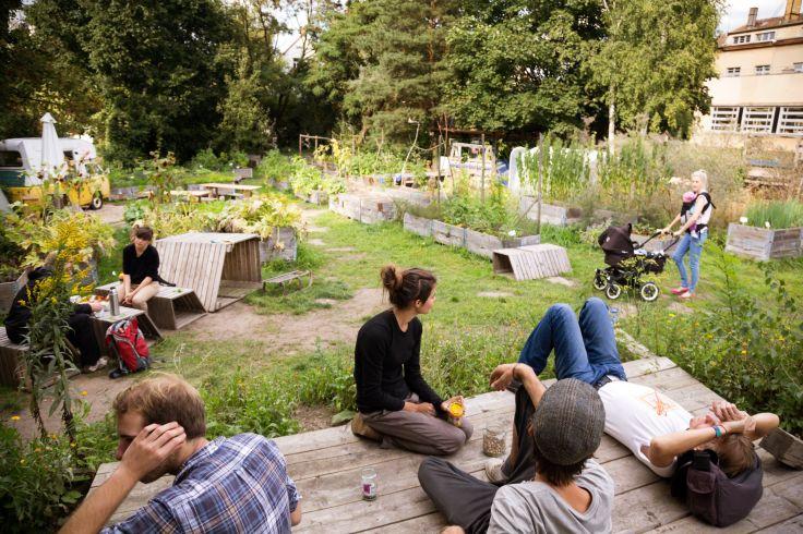 Berlin, Leipzig - Friches culturelles et jardins partagés