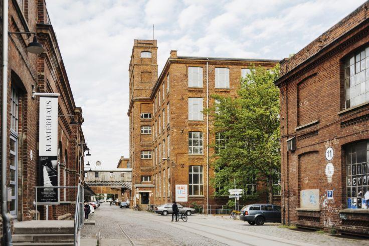 Quartier de Baumwollspinnerei - Leipzig - Allemagne