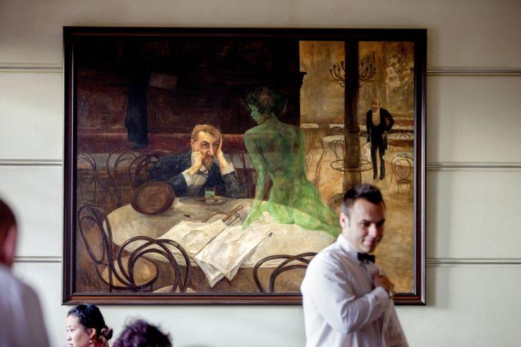 Cafe Slavia - Prague - République Tchèque