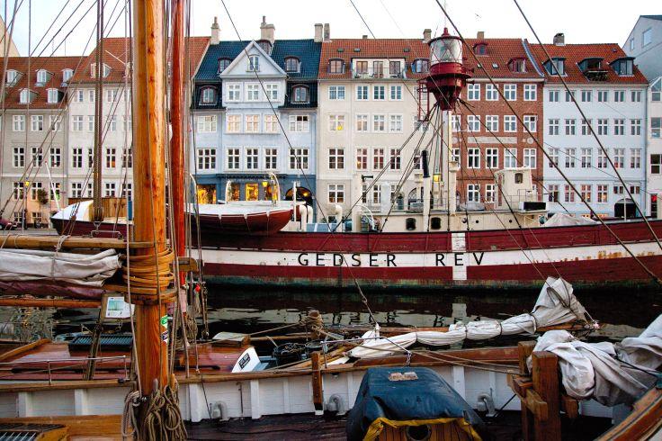 Quai de Nyhavn - Copenhague - Hovedstaden - Danemark