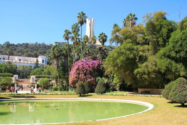 Jardin d'Essai du Hamma - Alger - Algérie