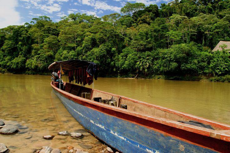Fleuve Napo - Equateur