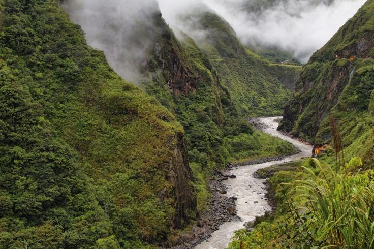 Rio Pastaza - Région de Banos - Equateur