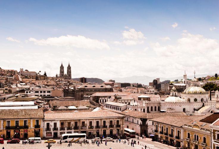 Plaza de San Francisco - Quito - Equateur