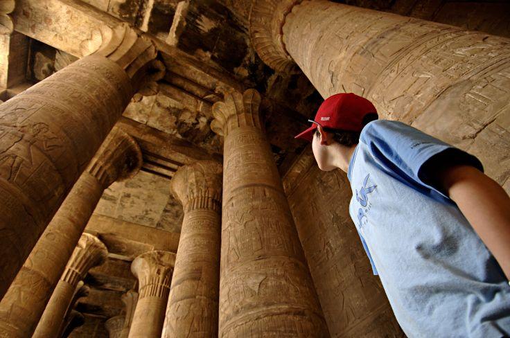 Pyramides et grande vapeur - Le Nil pour apprentis égyptologues