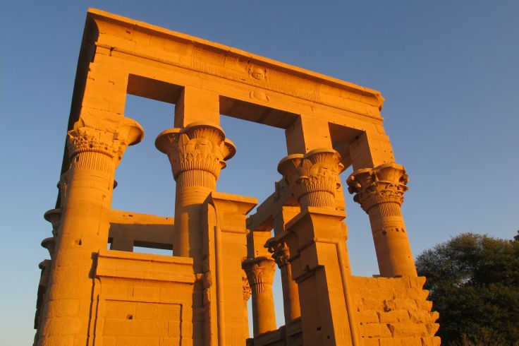 kiosque de Trajan - Ile de Philae - Egypte