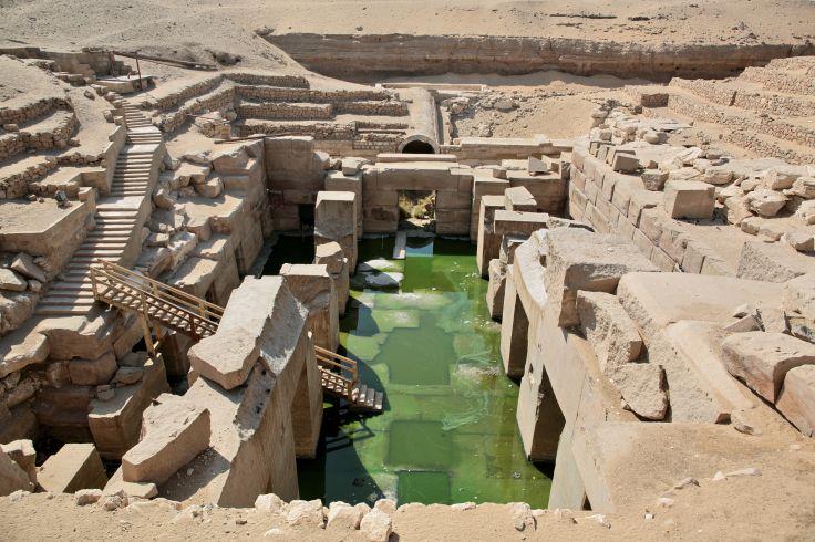 Temple funéraire de Séthi Ier - Abydos - Egypte
