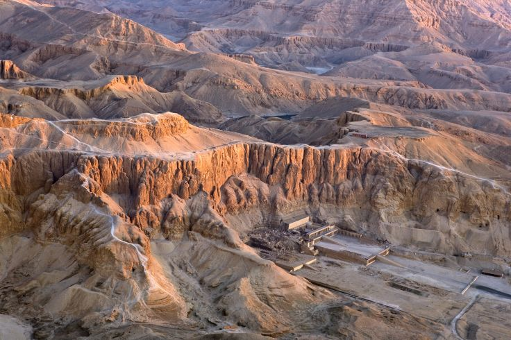 Temple d'Hatchepsout - Vallée des Rois - Egypte