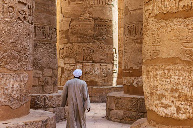 Temple d'Amon  - Louxor - Egypte