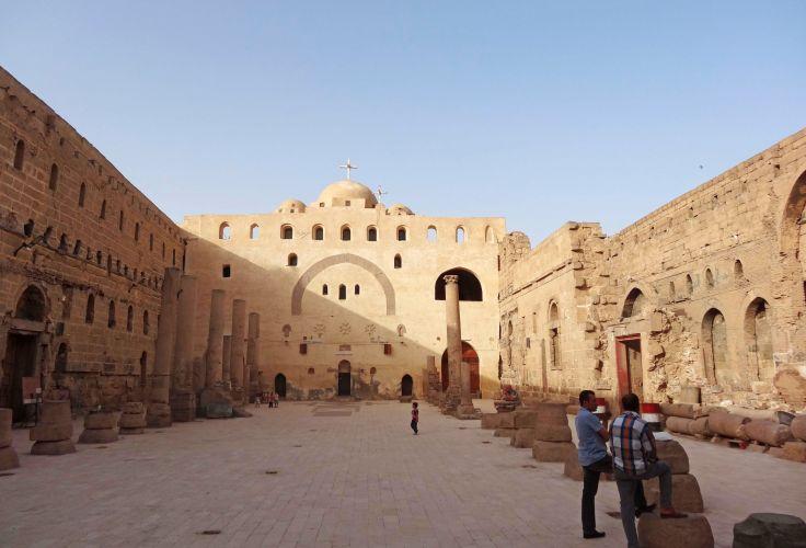 Monastère blanc à Sohag - Egypte