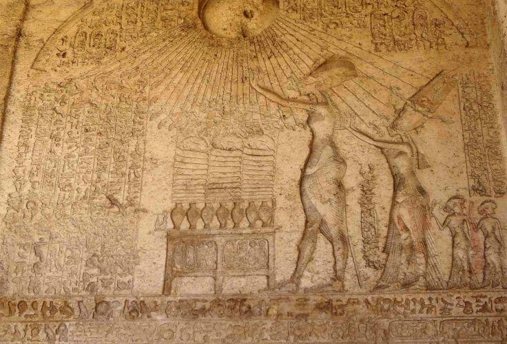 Site archéologique de Tell el-Amarna - Egypte
