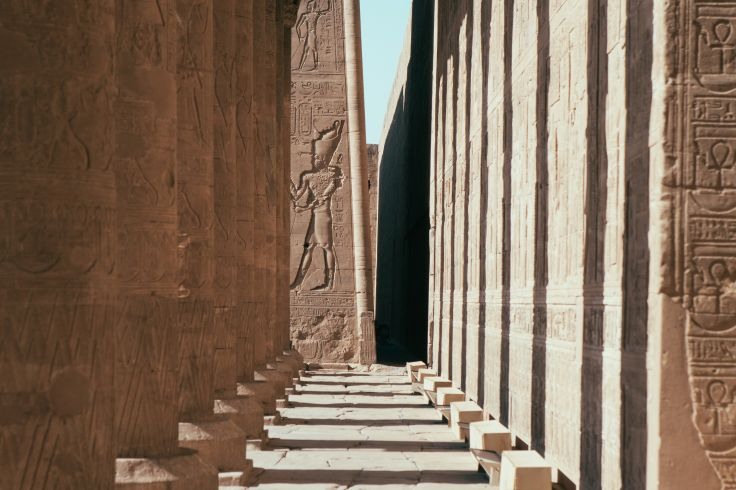 Temple d'Edfou - Egypte