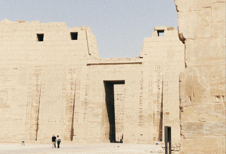 Ramesséum - Egypte