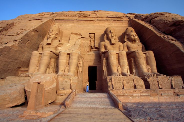 Temple d'Abou Simbel - Abou Simbel  - Egypte