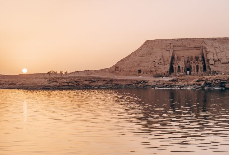 Temples d'Abou Simbel - Egypte