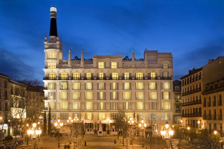 Weekend hotel design et flamenco a madrid voyageurs du monde for Hotel design madrid