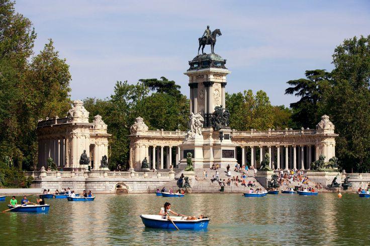 Parc du Retiro - Madrid - Espagne