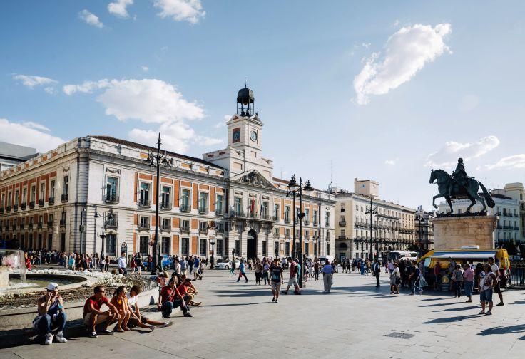 Puerta del Sol - Madrid - Espagne