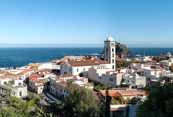 Village de Garachico - Santa Cruz de Tenerife - Îles Canaries - Espagne