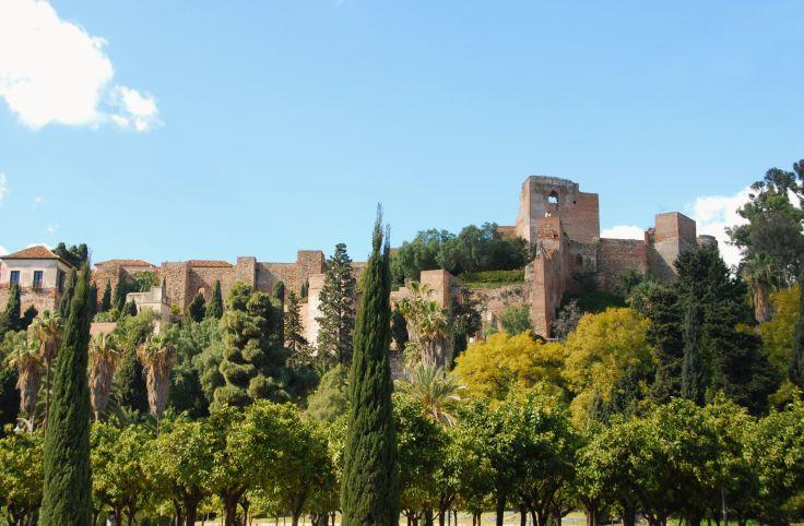 Alcazaba - Malaga - Andalousie - Espagne