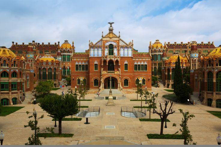 Hôpital Sant Pau - Barcelone - Espagne