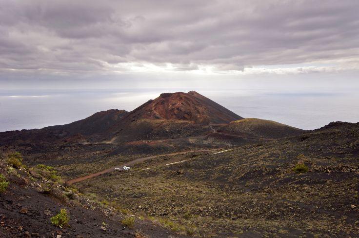 Volcan Teneguia - La Palma - Iles Canaries
