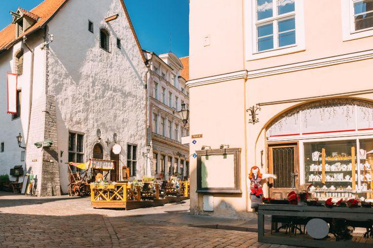 Centre-ville de Tallinn - Estonie