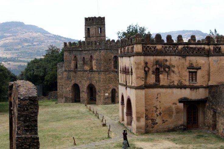 Palais de Fasilides - Gondar - Ethiopie