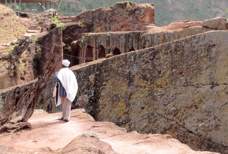 Eglises rupestres de Lalibela - Région Amhara - Ethiopie