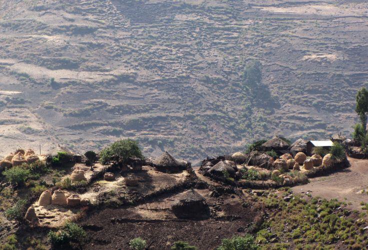 Route entre Lalibela et Mekele - Ethiopie