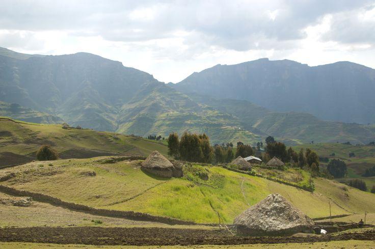 Parc National du Simien - Monts Simien - Région Amhara - Éthiopie