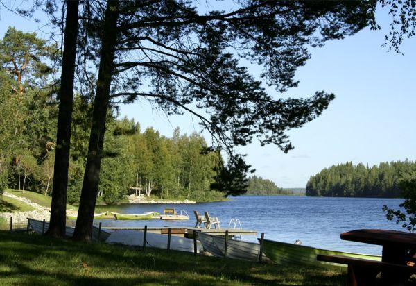 Finlande - Un cottage au bord de l'eau
