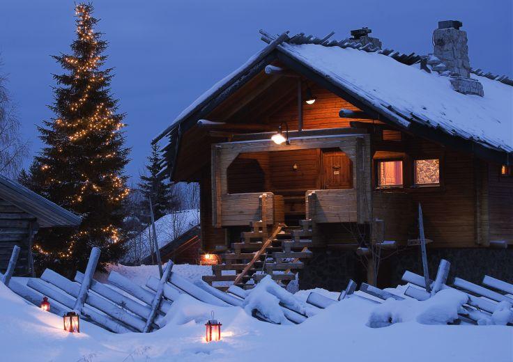 Pour petits & grands trappeurs - Entre deux fêtes en Laponie !
