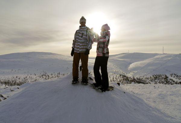 A deux - Romance nordique en Laponie
