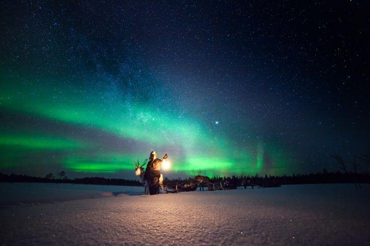 La Laponie à deux - Noël sous les étoiles & les aurores boréales