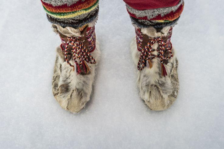 Pour le Nouvel An - Romance nordique en Laponie
