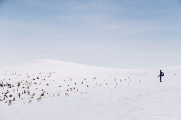 Mont Kesanki - Laponie - Finlande